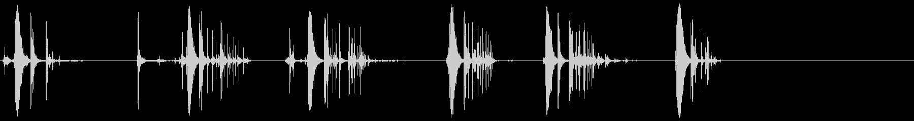 クリップ3から弾薬を取り出すの未再生の波形