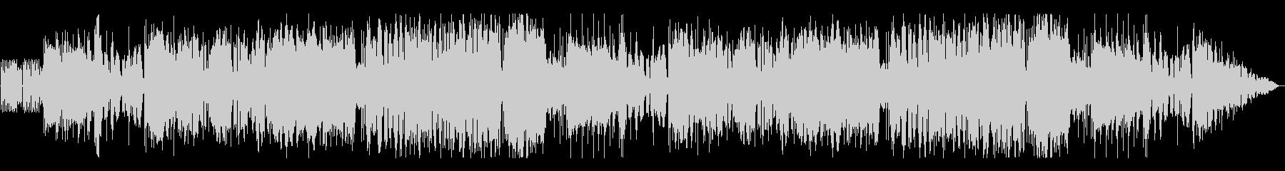 オーケストラロックな戦闘BGMの未再生の波形
