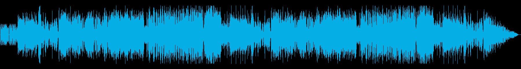 オーケストラロックな戦闘BGMの再生済みの波形