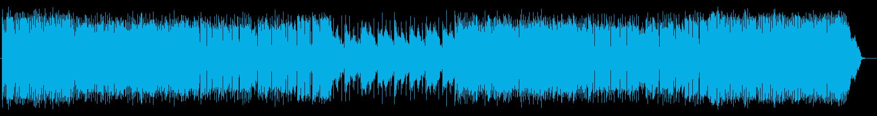 爽やかでエレクトーンが印象的なポップスの再生済みの波形