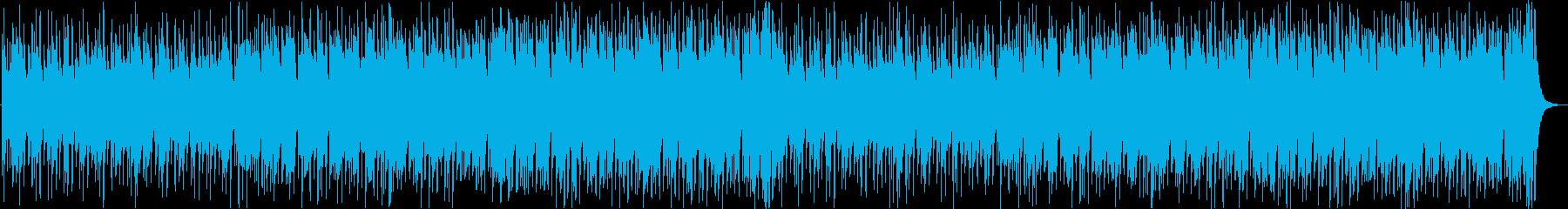軽快切ない哀愁レゲエラテンヒップホップbの再生済みの波形