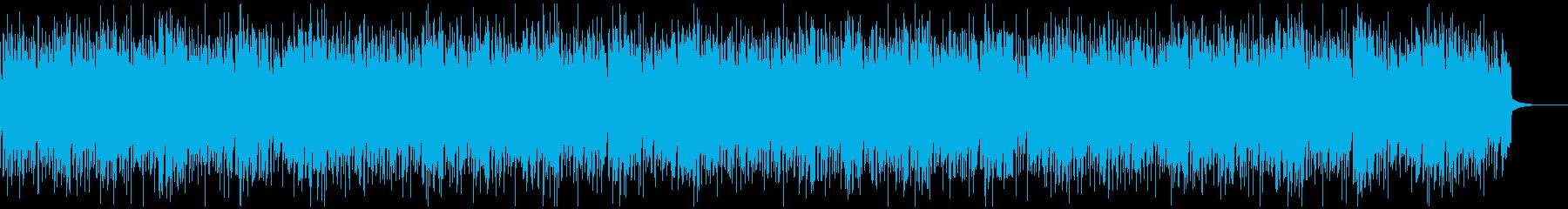 うきうきするような軽快なアコギBGMの再生済みの波形