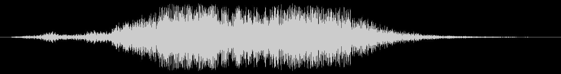 幻想的なタイトルアップ音の未再生の波形