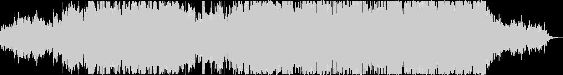 アンビエントでインスピレーションのある曲の未再生の波形
