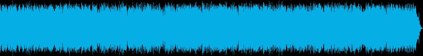 これはダブルバスドラムの荒れ狂う、...の再生済みの波形