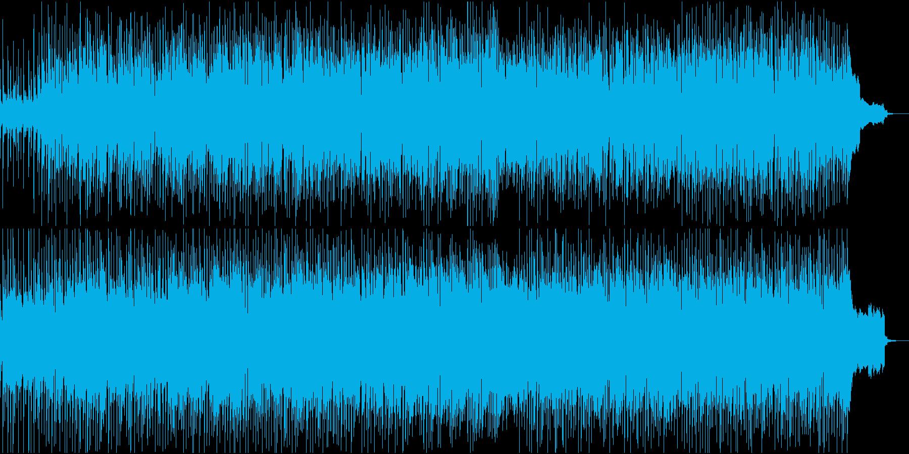 アコギストローク+オルガンの60sロックの再生済みの波形
