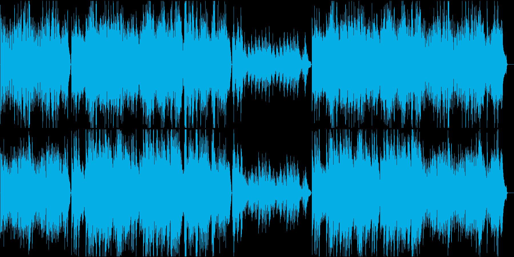 切なくてあたたかいピアノソロの再生済みの波形