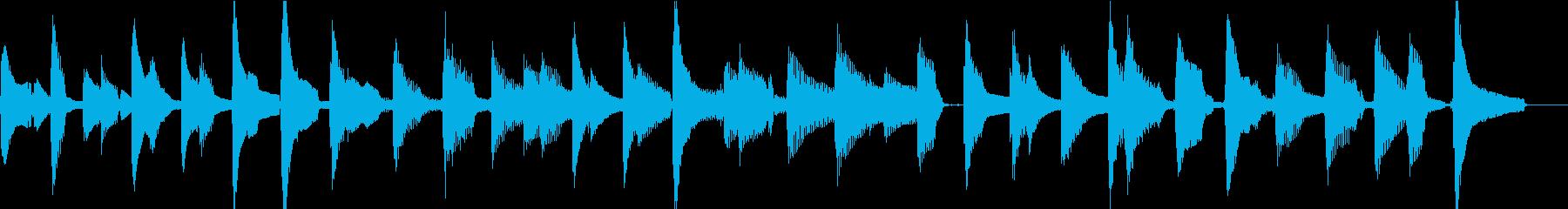 ウクレレ1本のみ(ストローク+メロディ)の再生済みの波形