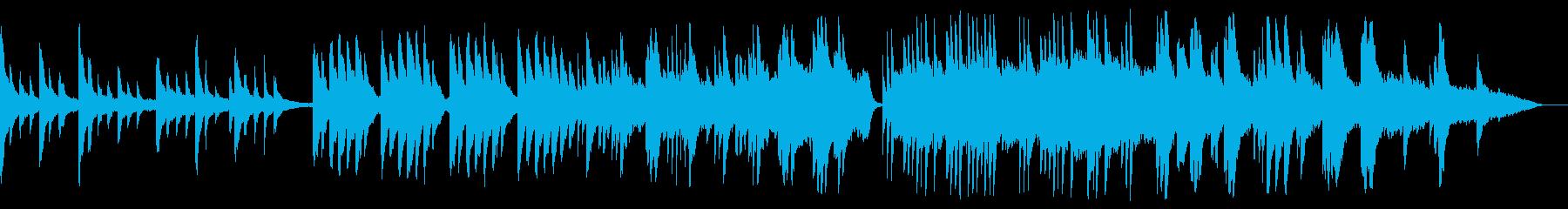 回想場面にマッチしたBGMの再生済みの波形