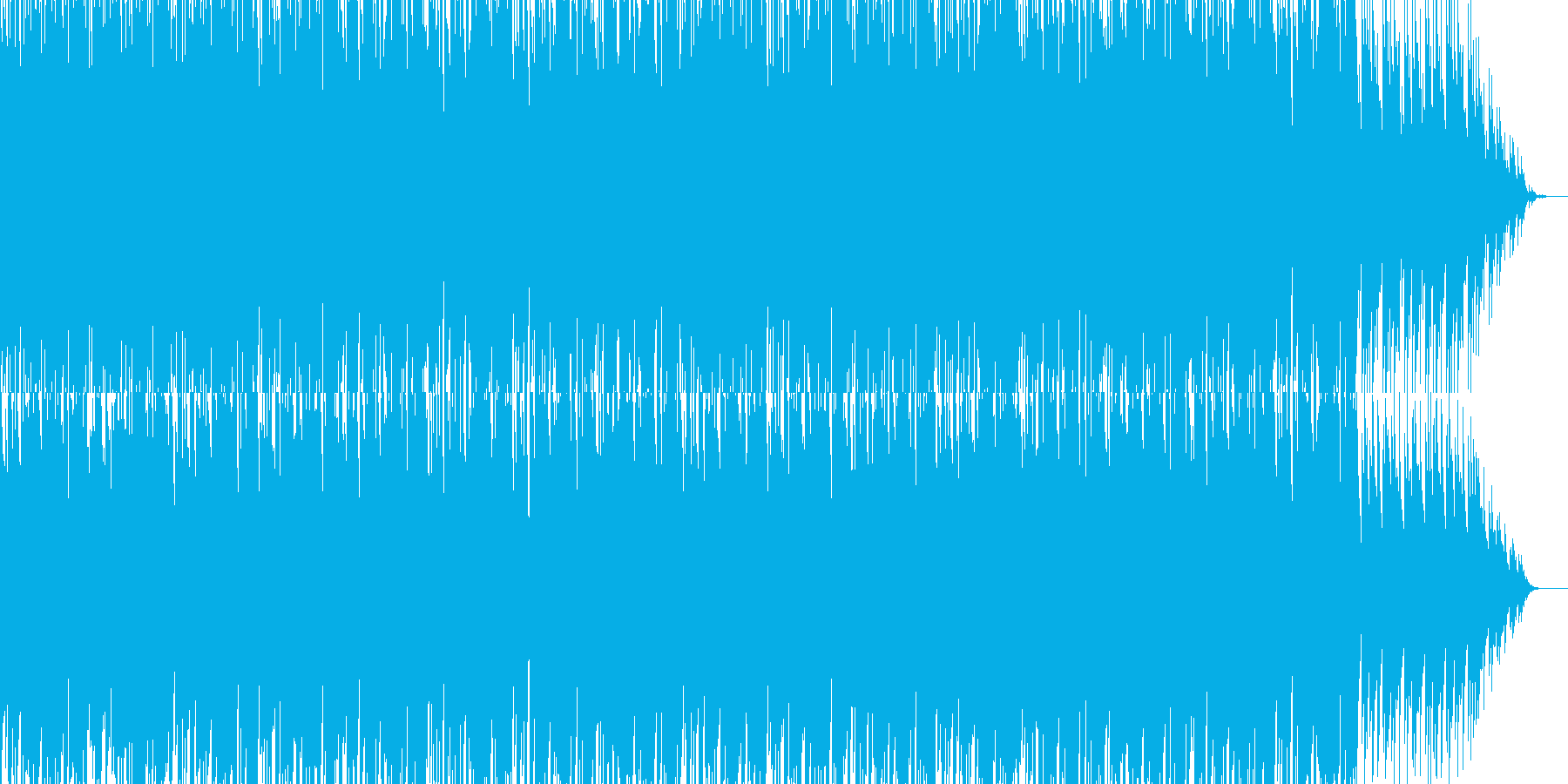 Commercial Music's reproduced waveform