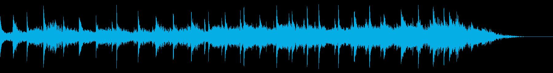感情に訴える感情的なピアノ作品。 ...の再生済みの波形