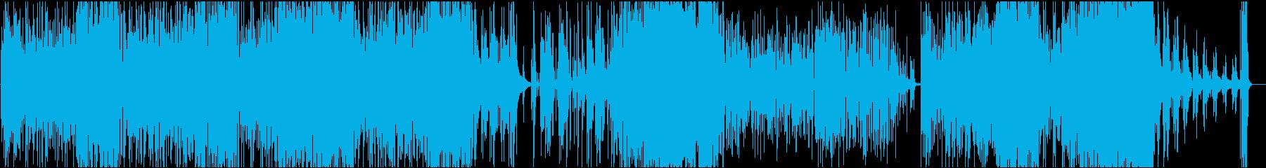 山の神様の再生済みの波形