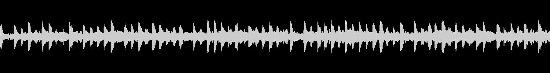 シンキングタイムのBGM(ループ素材)の未再生の波形