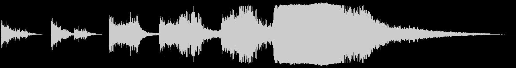現代的 交響曲 バトル 焦り 緊張...の未再生の波形