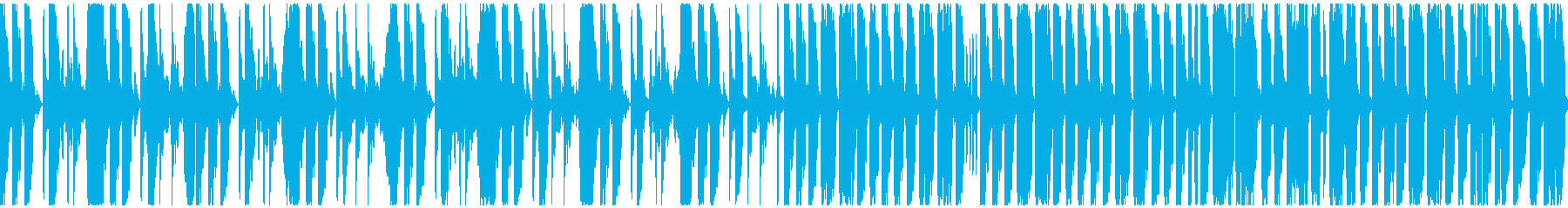 声ネタとドラムによる奇天烈な曲ですの再生済みの波形