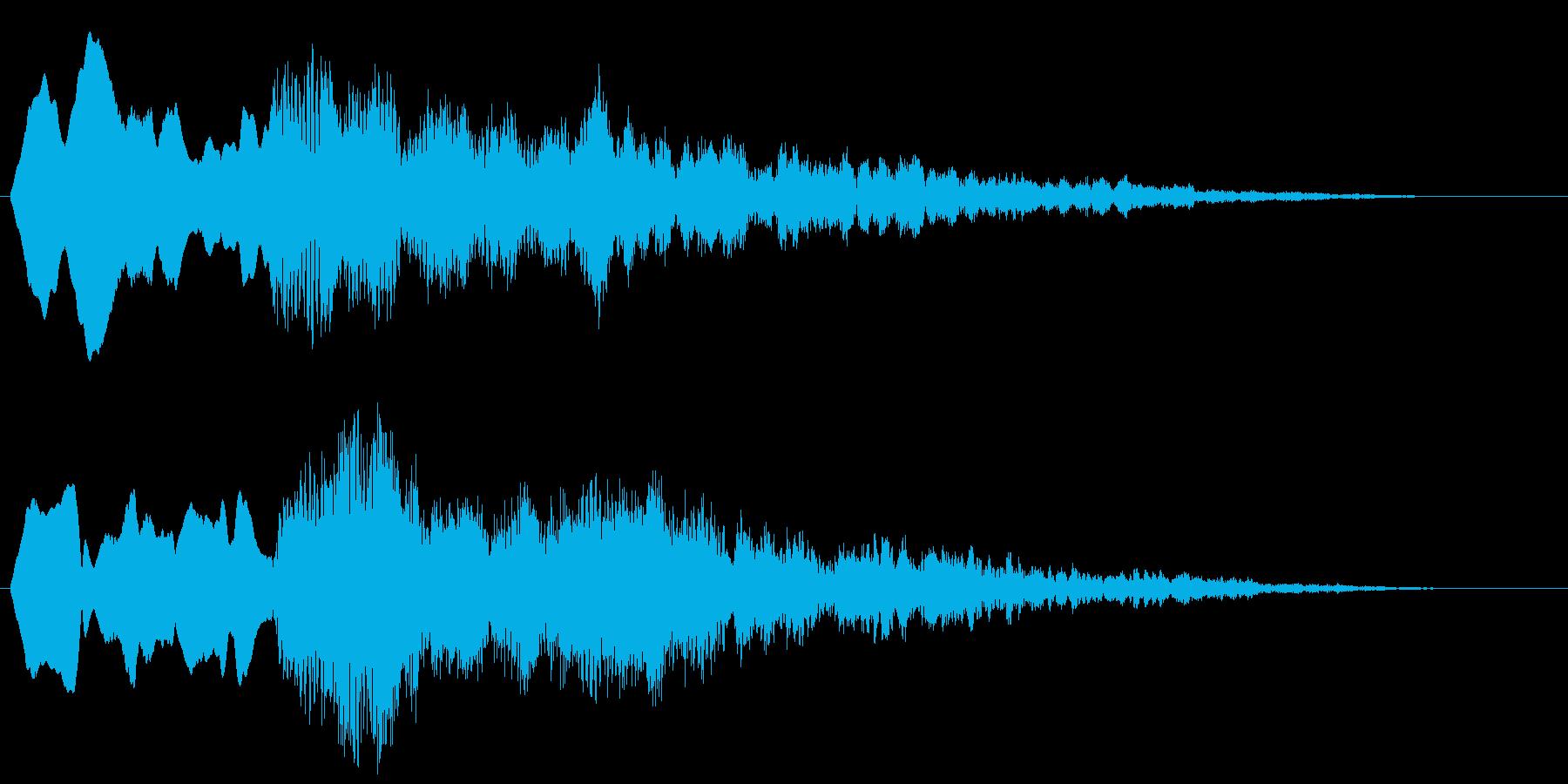 ピーンポーン ぴんぽん ぴーん 高音版の再生済みの波形