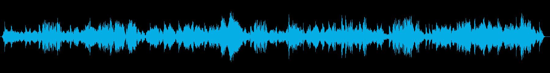 瞑想にクリスタルボウルヒーリング4の再生済みの波形
