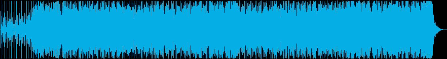 可愛らしいダンスポップ フル歌の再生済みの波形