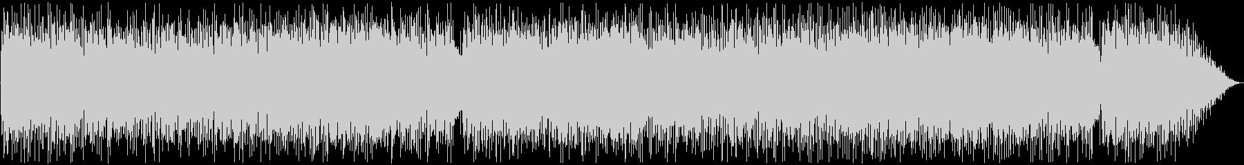 80年代のフュージョンバンド風の未再生の波形