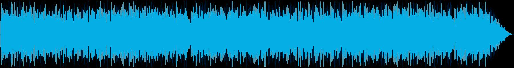 80年代のフュージョンバンド風の再生済みの波形
