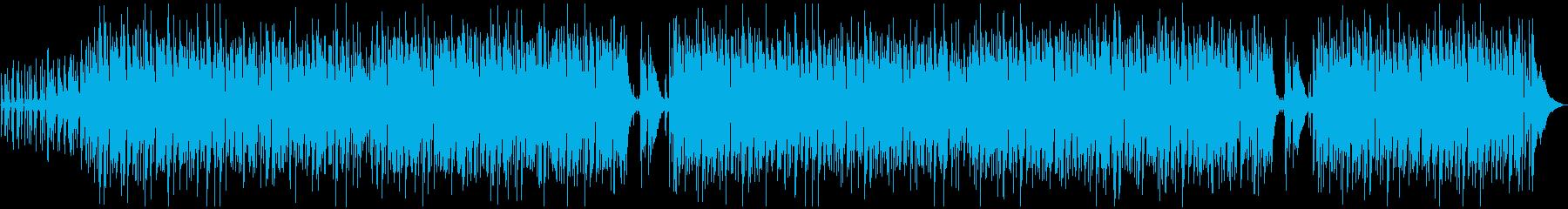 爽やか・おしゃれボサノバBGMの再生済みの波形