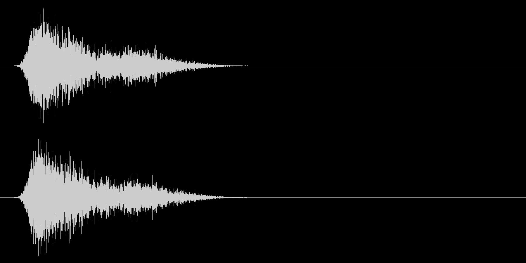 コミカルなダッシュ,ジャンプ効果音!7cの未再生の波形