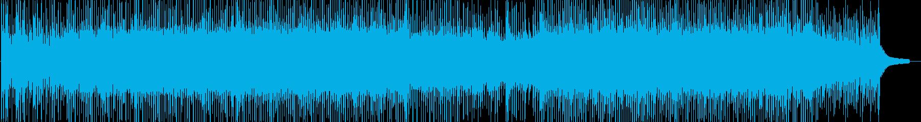 軽やかで清々しいBGMの再生済みの波形
