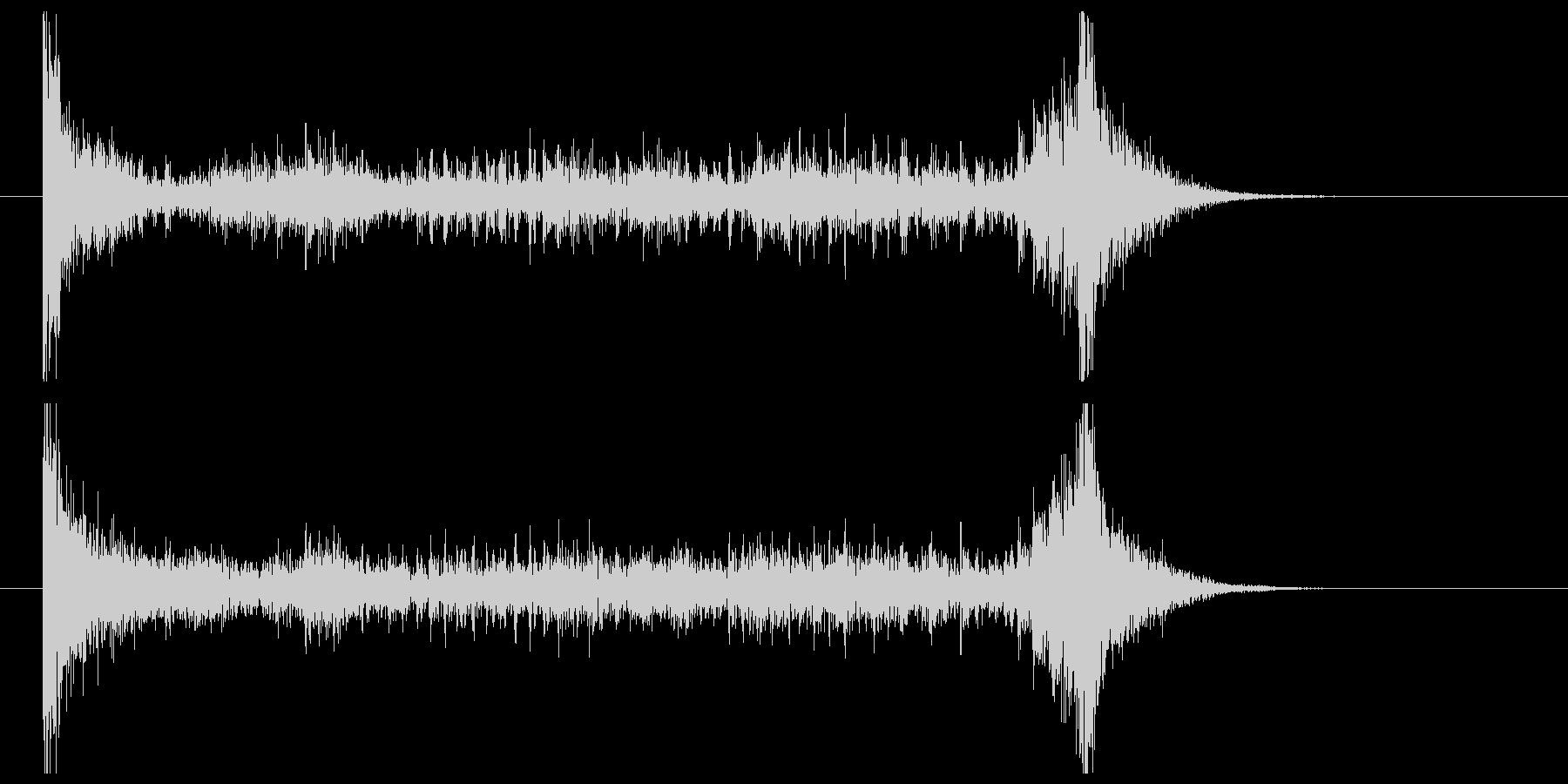ティンパニーロール(6秒)の未再生の波形