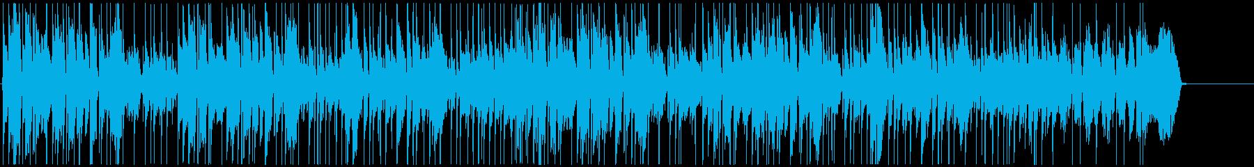 口笛とウクレレ、日常、楽しい、ウキウキの再生済みの波形
