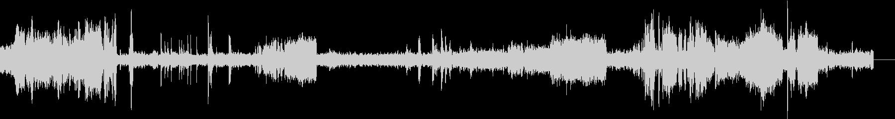 ディーゼル機関車ブレーキスクレープループの未再生の波形