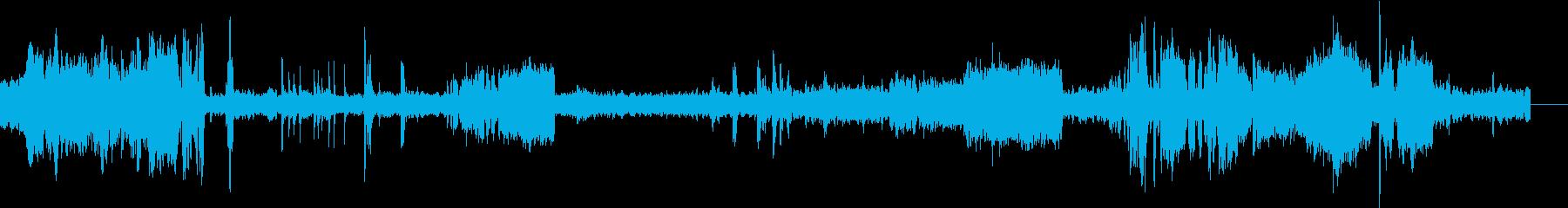 ディーゼル機関車ブレーキスクレープループの再生済みの波形