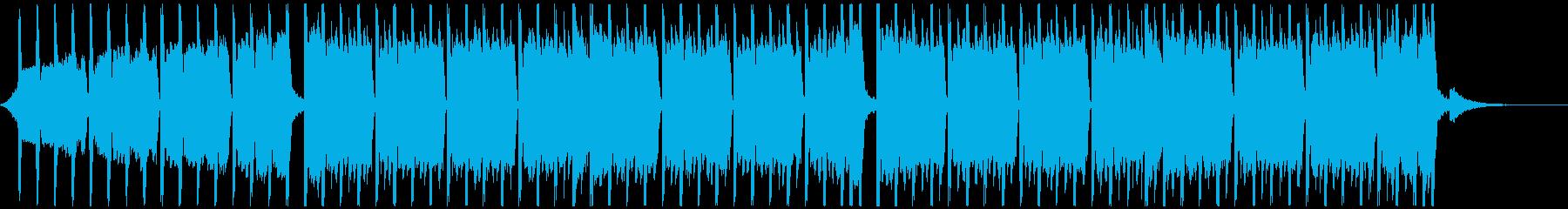 アクションスポーツ(52秒)の再生済みの波形