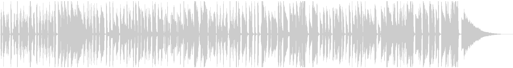 おしゃれピアノジャズ 楽しい料理映像等(ソロ)の未再生の波形
