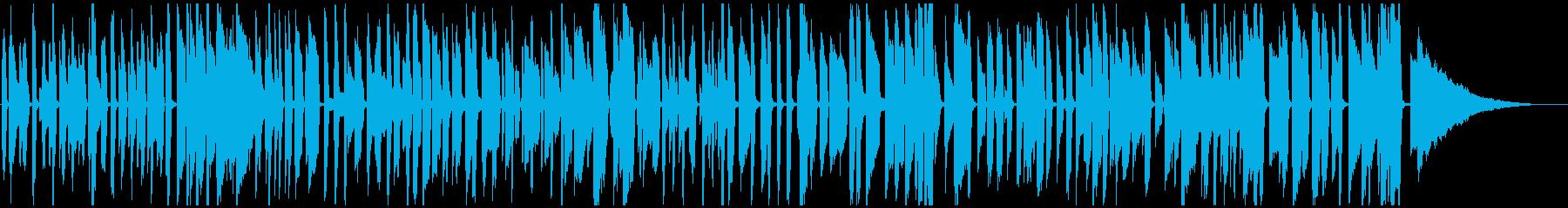 おしゃれピアノジャズ 楽しい料理映像等(ソロ)の再生済みの波形