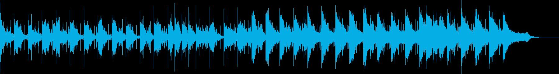 結婚式をイメージしたちょっと感動系のB…の再生済みの波形