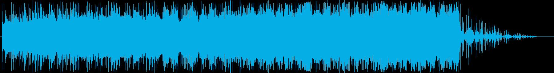 哀愁あるストリングスによる壮大な楽曲の再生済みの波形