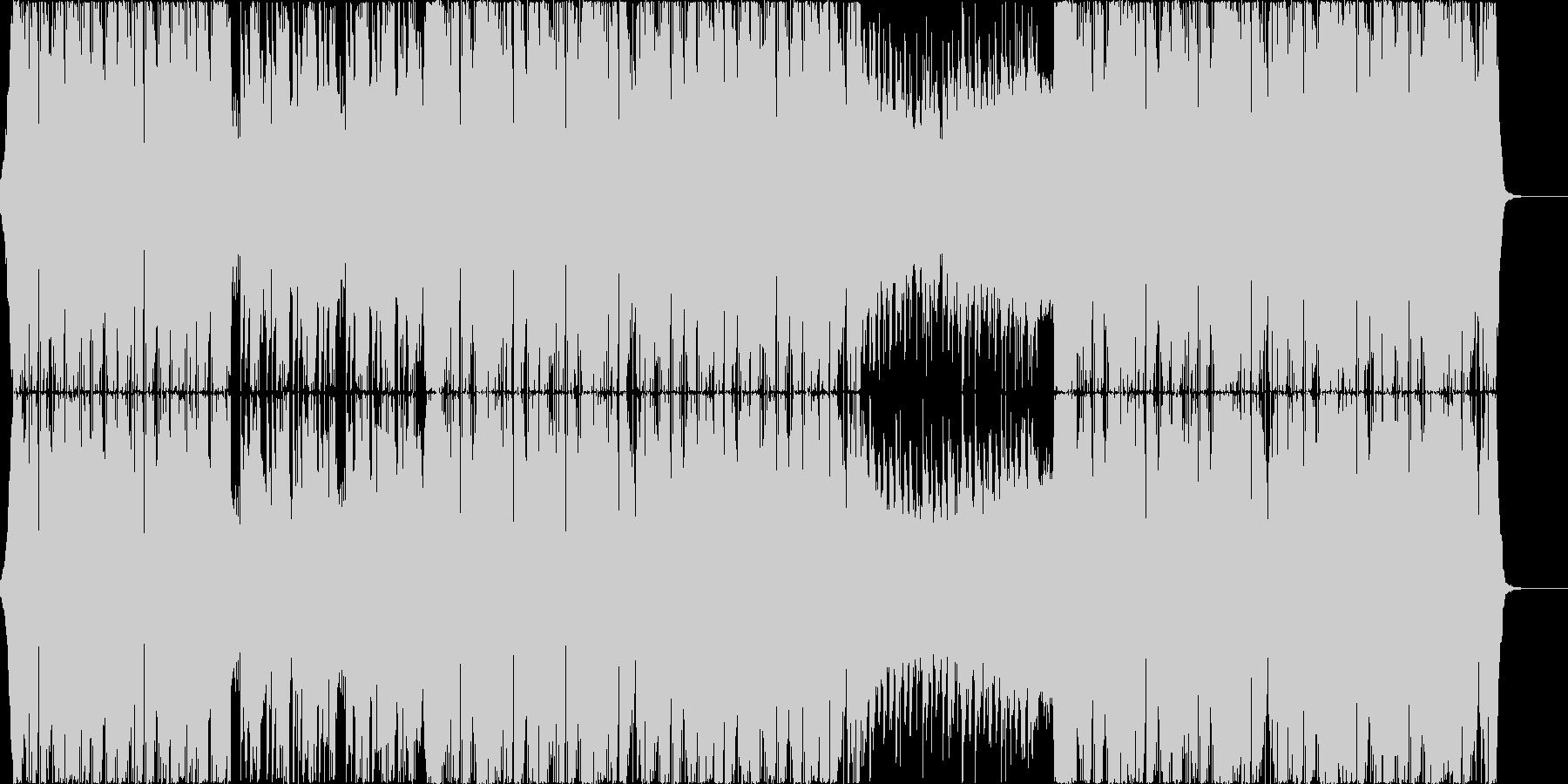重厚でアグレッシブなシンセベースのEDMの未再生の波形