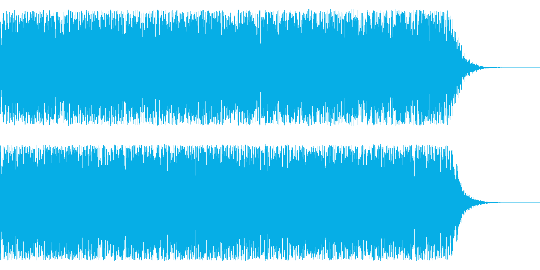【宇宙・SF系】未知との遭遇、電波交信の再生済みの波形