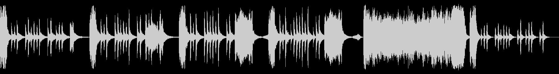 コミカルファンタジーの変人 ループ仕様の未再生の波形