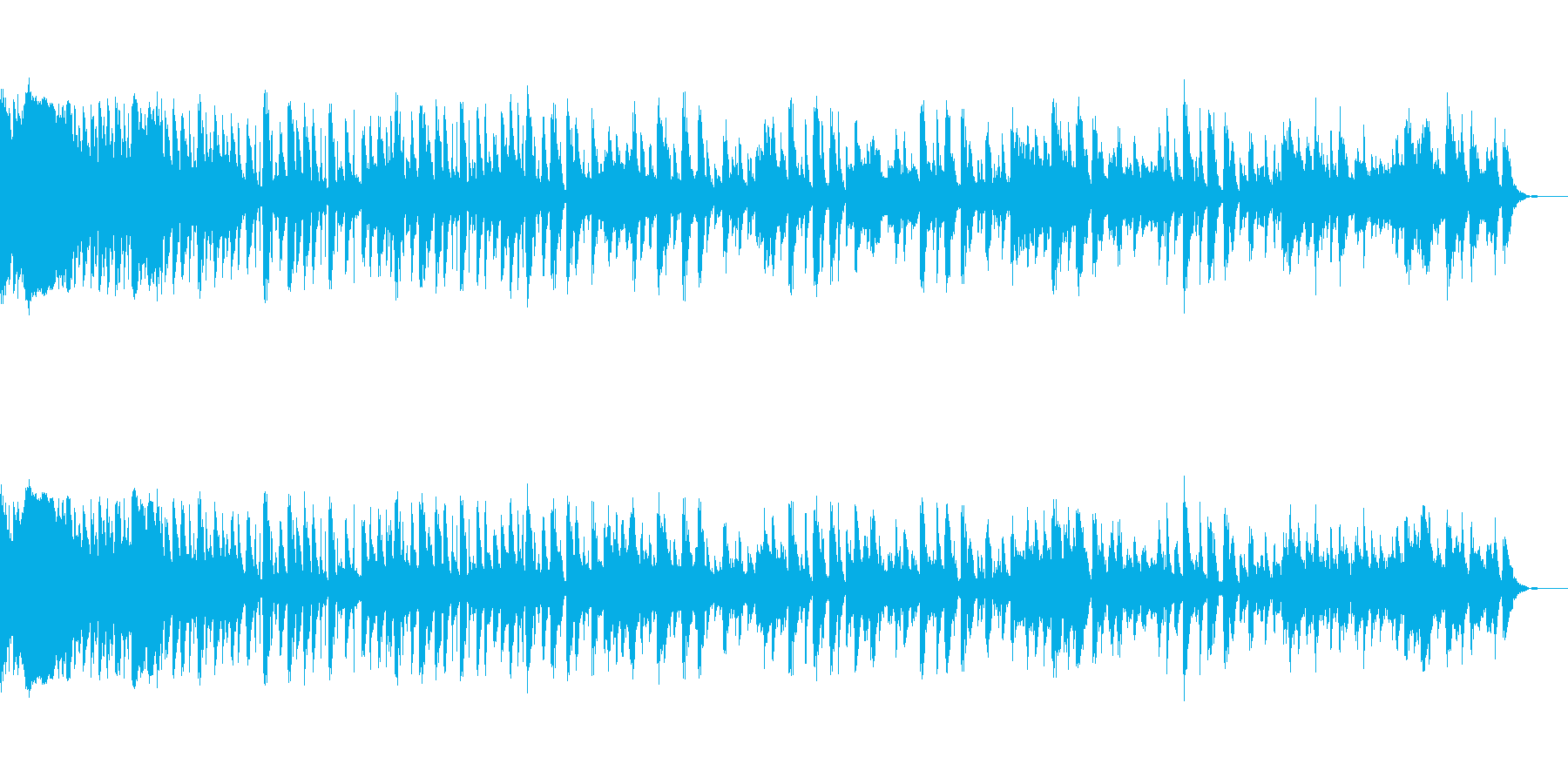ジャンカーベッドの再生済みの波形