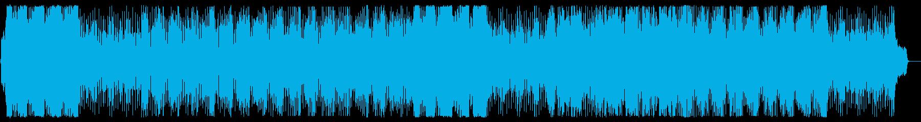 晴れやかで壮大なメロディーの再生済みの波形