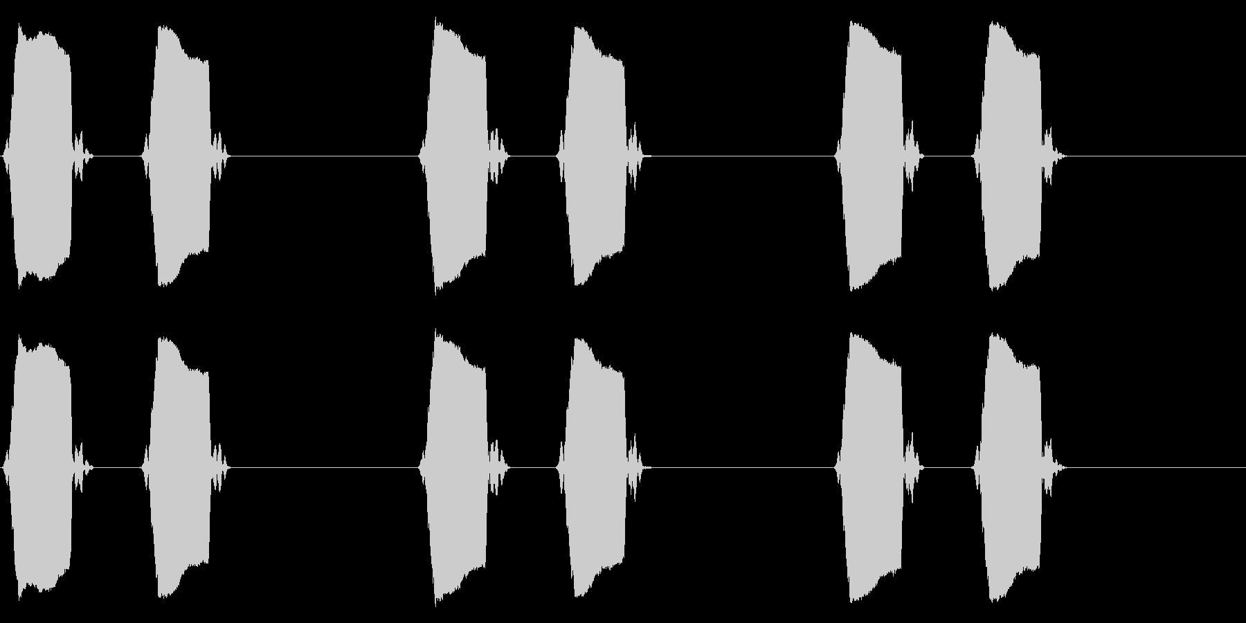 携帯電話 バイブレーション02-07(毛の未再生の波形