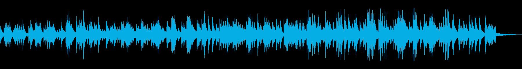 もの悲しいバラードのジャズ風ピアノソロの再生済みの波形