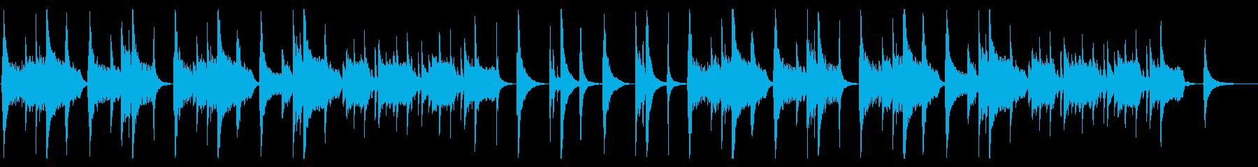 和風 バラード・尺八・優雅の再生済みの波形