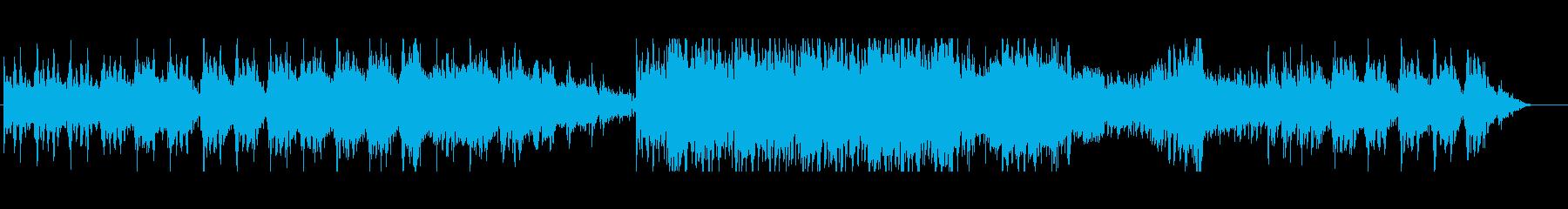 古代遺跡をイメージした暗く神秘的な曲の再生済みの波形