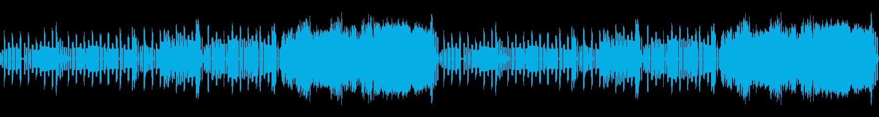 ピコピコ音の夢見るデュオの再生済みの波形