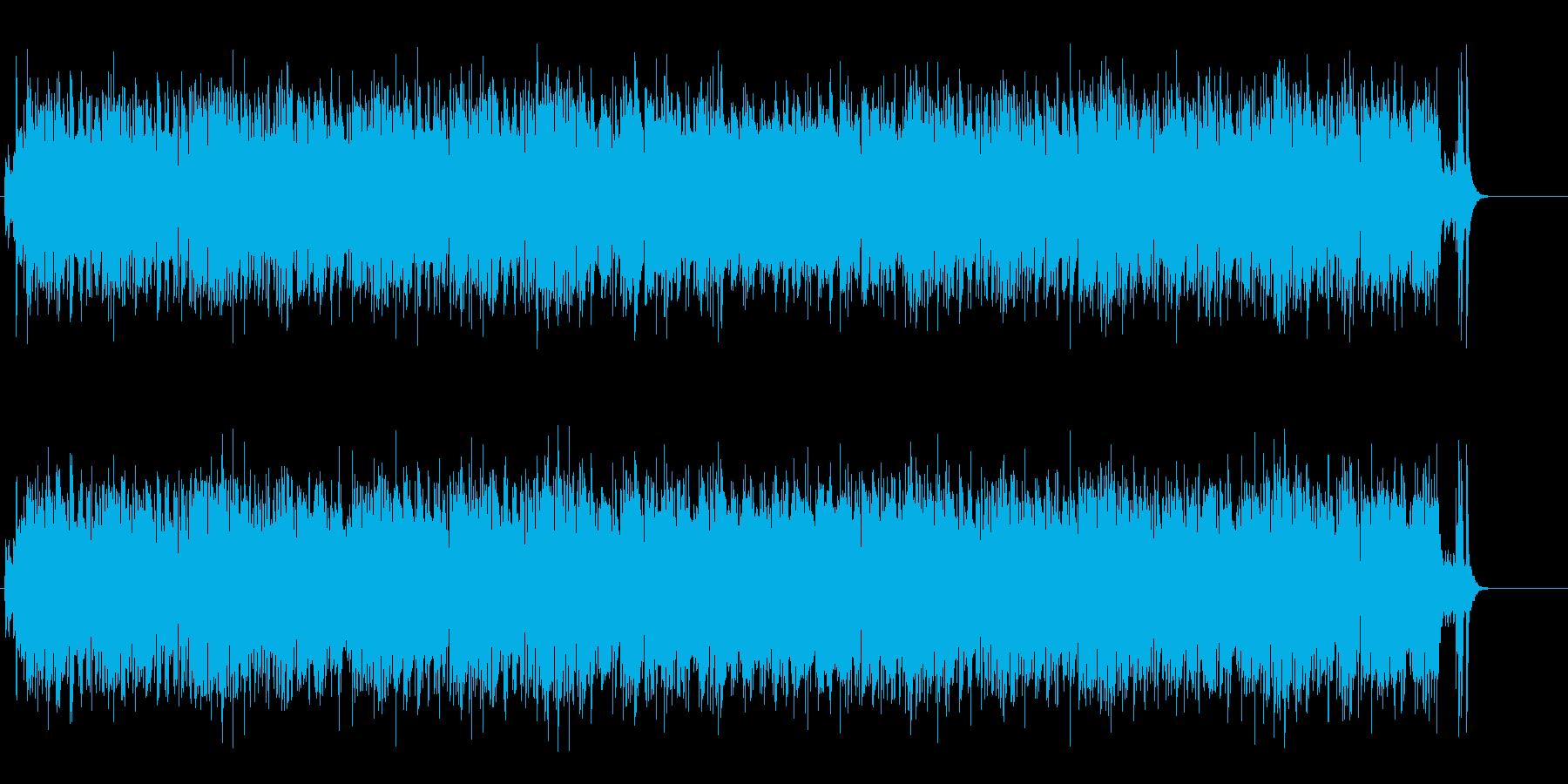 漫然としたゆったりポップスの再生済みの波形
