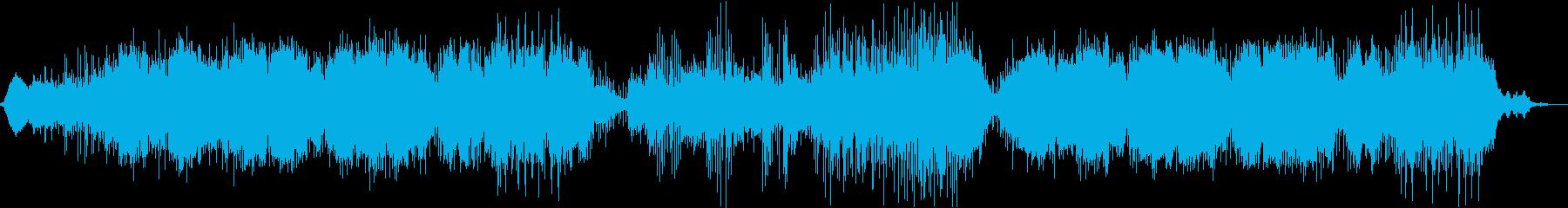 ほのぼのとして軽快な曲の再生済みの波形
