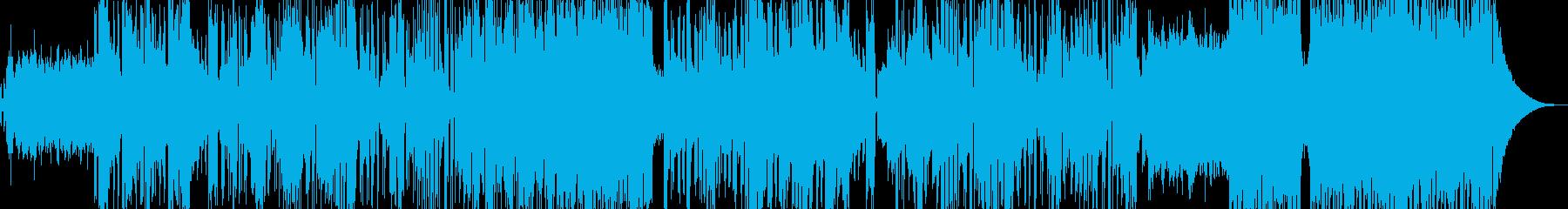 疾走感と癒しを込めたドラムンベースの再生済みの波形