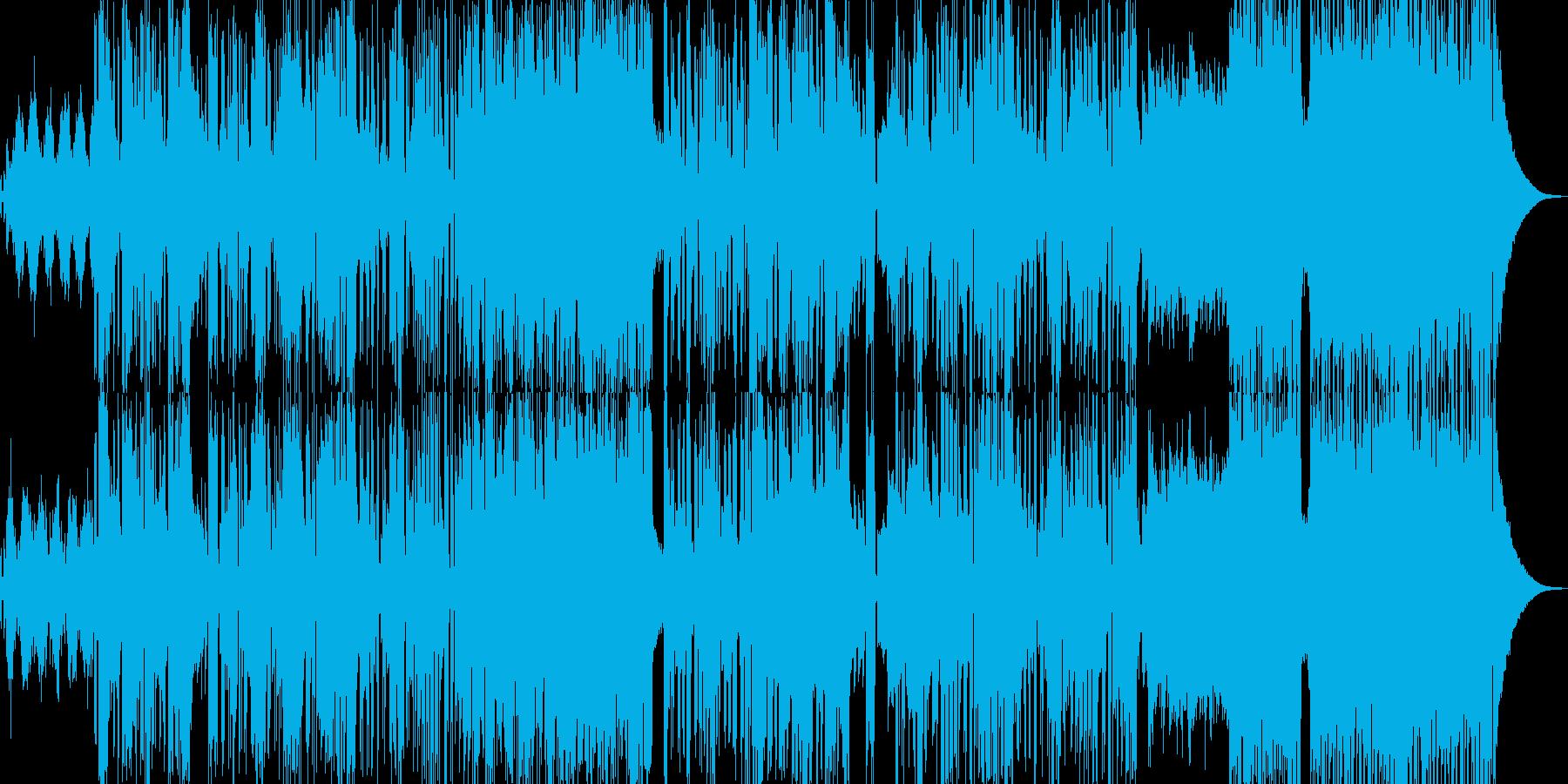 イオン・癒される雰囲気に適したBGMの再生済みの波形